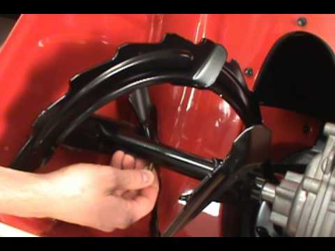 Replacing a Shear Pin - Toro Two-Stage Snow Blower