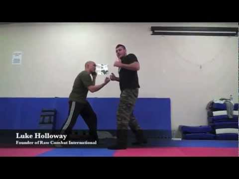 BRUTAL STREET FIGHTING TECHNIQUES - Upper Cut Defense with Luke Holloway Image 1