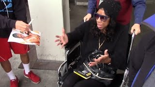 Natalie Cole In A Wheelchair At LAX, On NFL Championship, Says