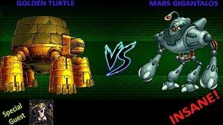 MSA VERSUS   GOLDEN TURTLE vs MARS GIGANTALOS Featuring HALLOWEEN ALMA.