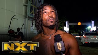 Isaiah Scott stays confident: NXT Exclusive, Oct. 9, 2019