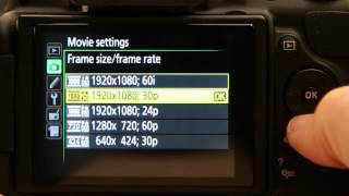 Nikon D5200 - Movie Settings & Tips