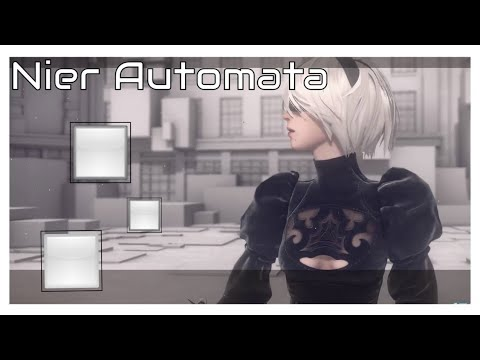 NieR: Automata Ep 40 A SECRET AREA IN THE FOREST Youtube Gaming BlueFire (PC VERSION)