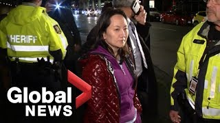 Huawei CFO Meng Wanzhou leaves jail after granted $10-million bail