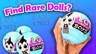 Do LOL Doll Finding Hacks Really Work? - LOL Surprise Boys