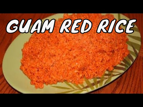 How to Make Guam Red Rice - Part 1