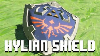 WHERE TO BUY NEW HYLIAN SHIELDS | The Legend of Zelda: Breath of the Wild