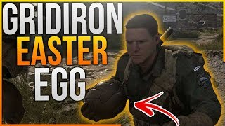 Call of Duty WW2 - HIDDEN GRIDIRON BALL Locations in Headquarters! (CoD WWII HQ Easter Egg)