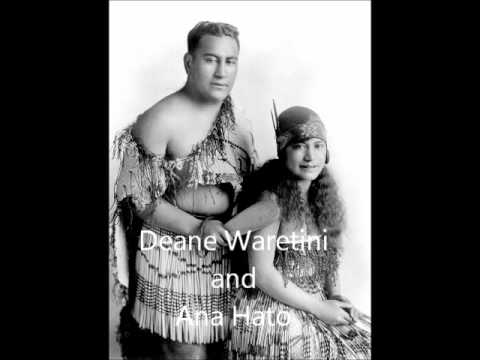 Ana Hato and Deane Waretine - Po Atarau (Now Is the Hour) 1927