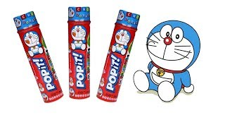 Bóc và ăn thử kẹo socola | Chocolate candy doraemon | Chocolate M&M