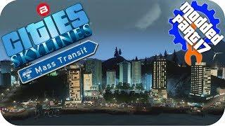 Cities Skylines Gameplay: WATERFRONT TOURISM ISLAND! Cities: Skylines Mods MASS TRANSIT DLC Part 17