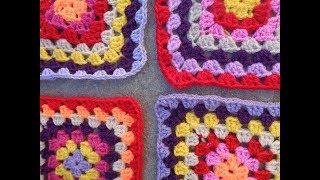 Motif για πλεκτή crochet κουβέρτα [part03]
