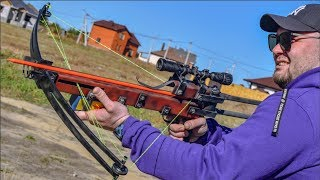 How to make Resistance Crossbow from Half-Life 2 DIY