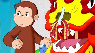 Curious George 🐵George's Dragon Dance 🐵Full Episode 🐵 HD 🐵 Cartoons For Children