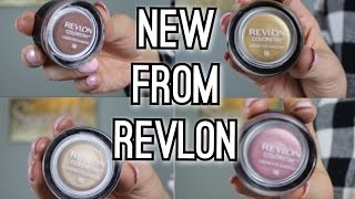 NEW REVLON CREAM EYESHADOWS | NEW DRUGSTORE MAKEUP