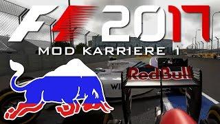 F1 2017 MOD KARRIERE (1) #04 - CRASH BEI 340 km/h + MEINE STÄRKSTE AUFHOLJAGD [QHD][F1 2017 Mod]