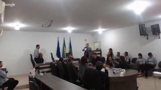 DECIMA NONA REUNIAO ORDINARIA DA CAMARA MUNICIPAL DE PEDRA PRETA -  MT - 05/11/2018.