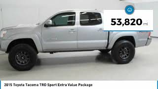 2015 Toyota Tacoma 2015 Toyota Tacoma TRD Sport Extra Value Package FOR SALE in Nampa, ID 4411910