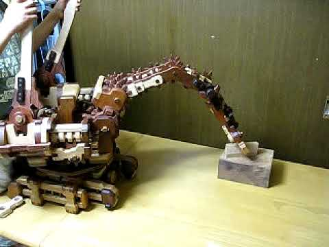 2009Wooden robotic arm