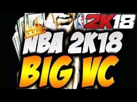 *huge* nba 2k18 big vc glitch make 100,000 (fast) working