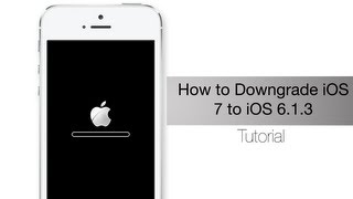 Downgrade from iOS 7 in order to iOS six. 1 . three or more on your apple iphone 4 using iFaith