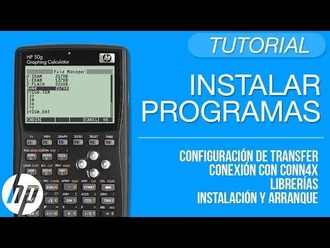 Instalar programas en la HP desde la PC - Tutorial HP 50g