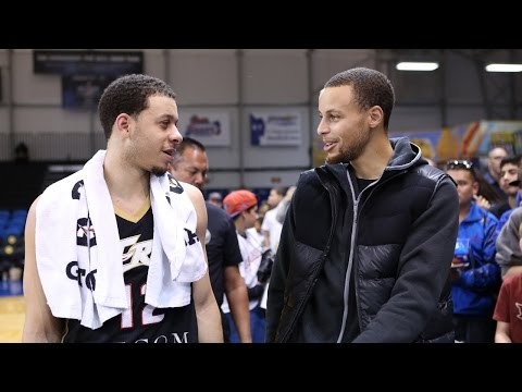 Seth Curry scores 25 points in front of brother Stephen at NBA D-League Showcase