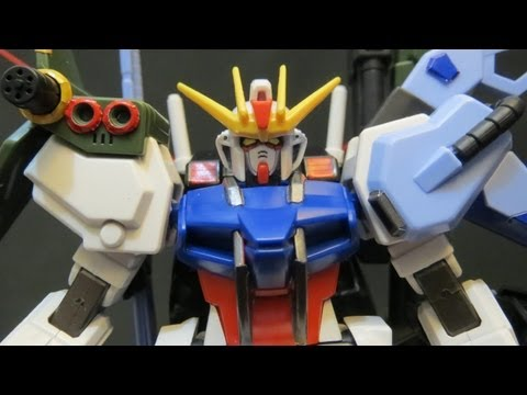 HG Perfect Strike Gundam (2: Parts) Gundam Seed Mu La Flaga model review ガンプラ