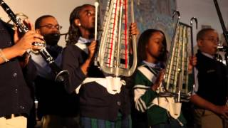 Martin Behrman Marching Band at Young Audiences Winter Spotlight 2012