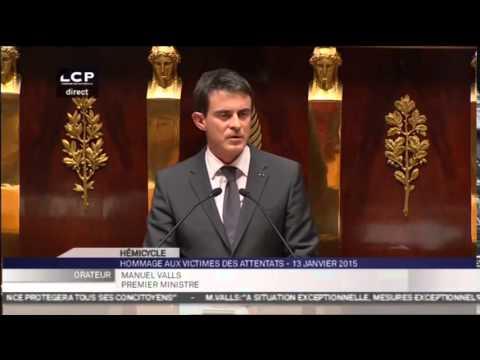 La colère de Manuel Valls contre la haine des Juifs