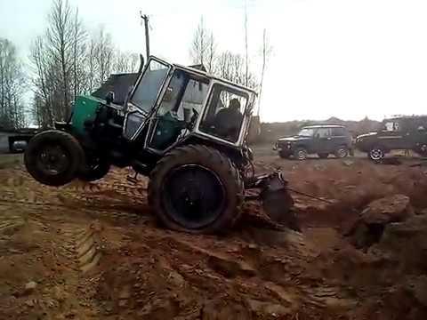 Не плановый ремонт мини трактора из мотоблокА - YouTube