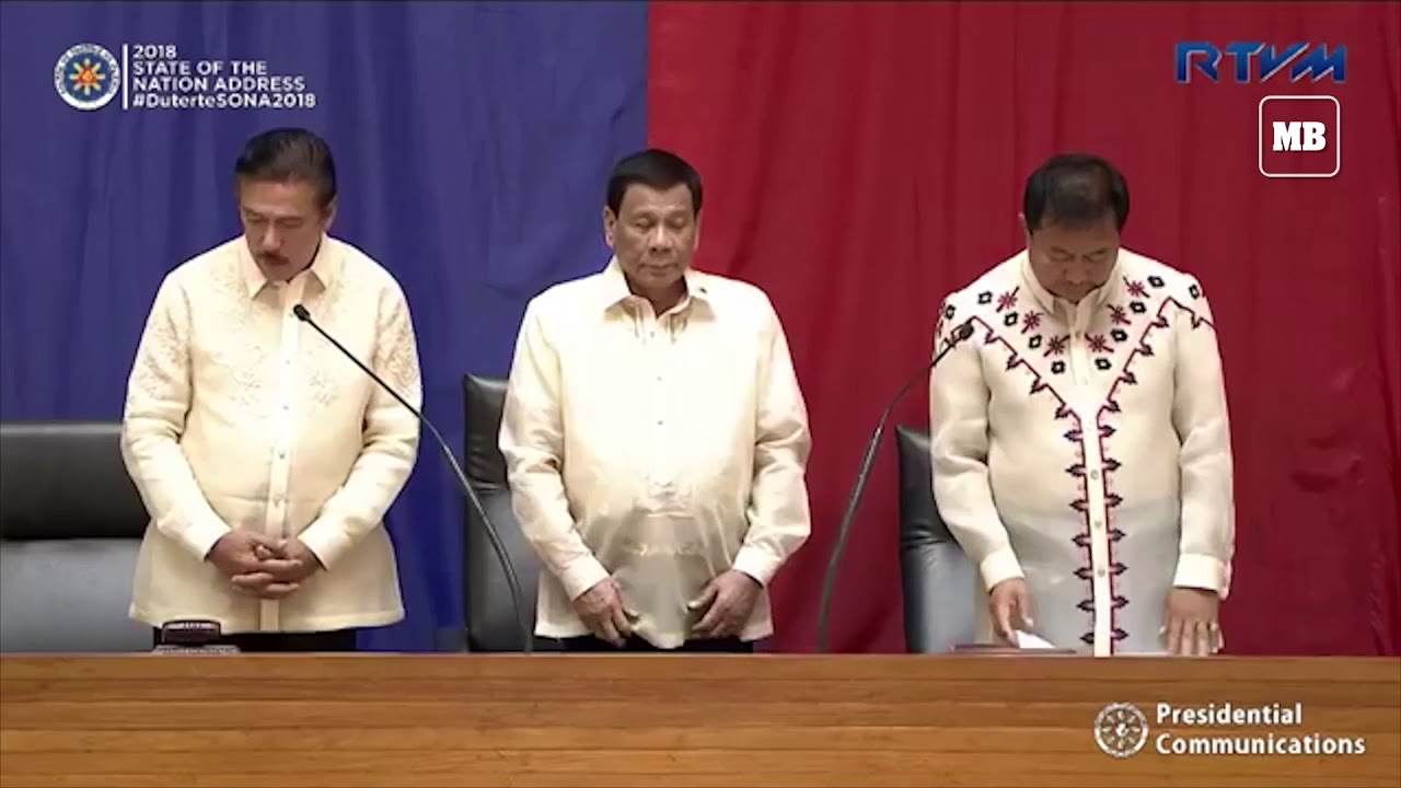 Pres  Duterte delivers 3rd SONA amid House leadership crisis