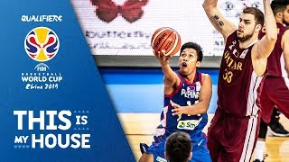 Philippines earn a big win vs. Qatar - Full Game - FIBA Basketball World Cup 2019 - Asian Qualifiers