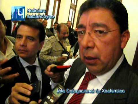 funcionarios de Xochimilco amenazan a vecinos (as)