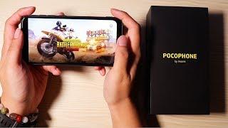Pocophone F1 Unboxing - Pubg, Battery, Camera