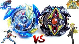 Victory Valtryek .B.V vs Zillion Zeutron .I.W - Valt vs Zac - Beyblade Burst Battle - V2 vs Z2