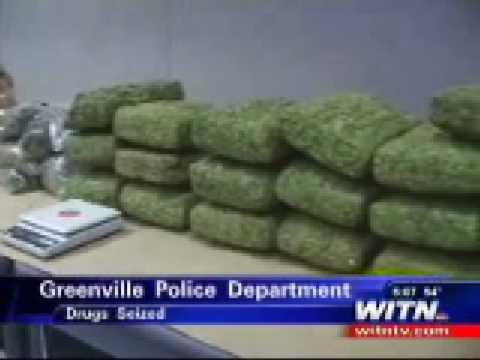 Greenville Drug Bust Nets 100 Pounds Of Pot Witn Youtube