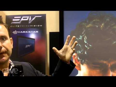 CEDIA 2013: Elite Screens Looks at Prime Vision DarkStar Screen