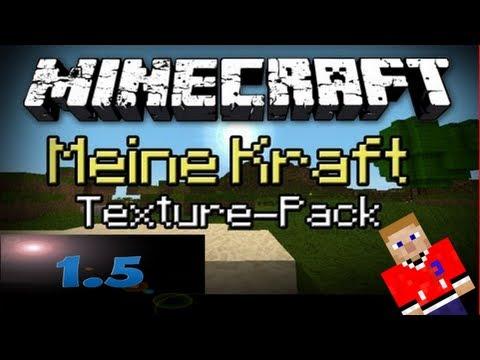 MEINE KRAFT Texture pack für Minecraft 1.5.2 [1.6]...