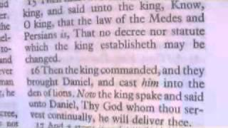 Daniel 6 Holy Bible (King James)