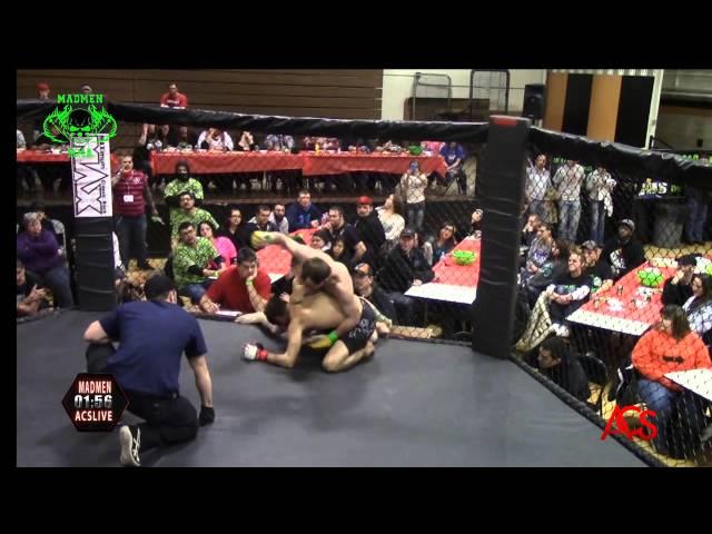 ACSLIVE.TV Presents Madmen MMA Night Of Champions Jeremy Brown vs Franklin Thomas 155 belt