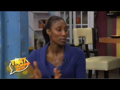 Lisa Leslie visits That Morning Show Video