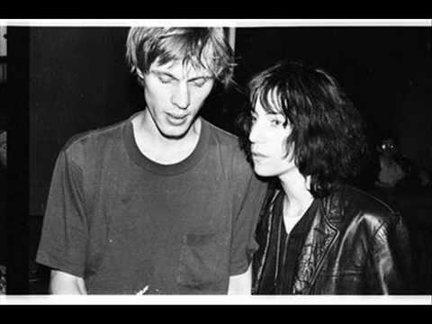The Night,Patti Smith&Tom Verlaine(poems)1976+Tom's