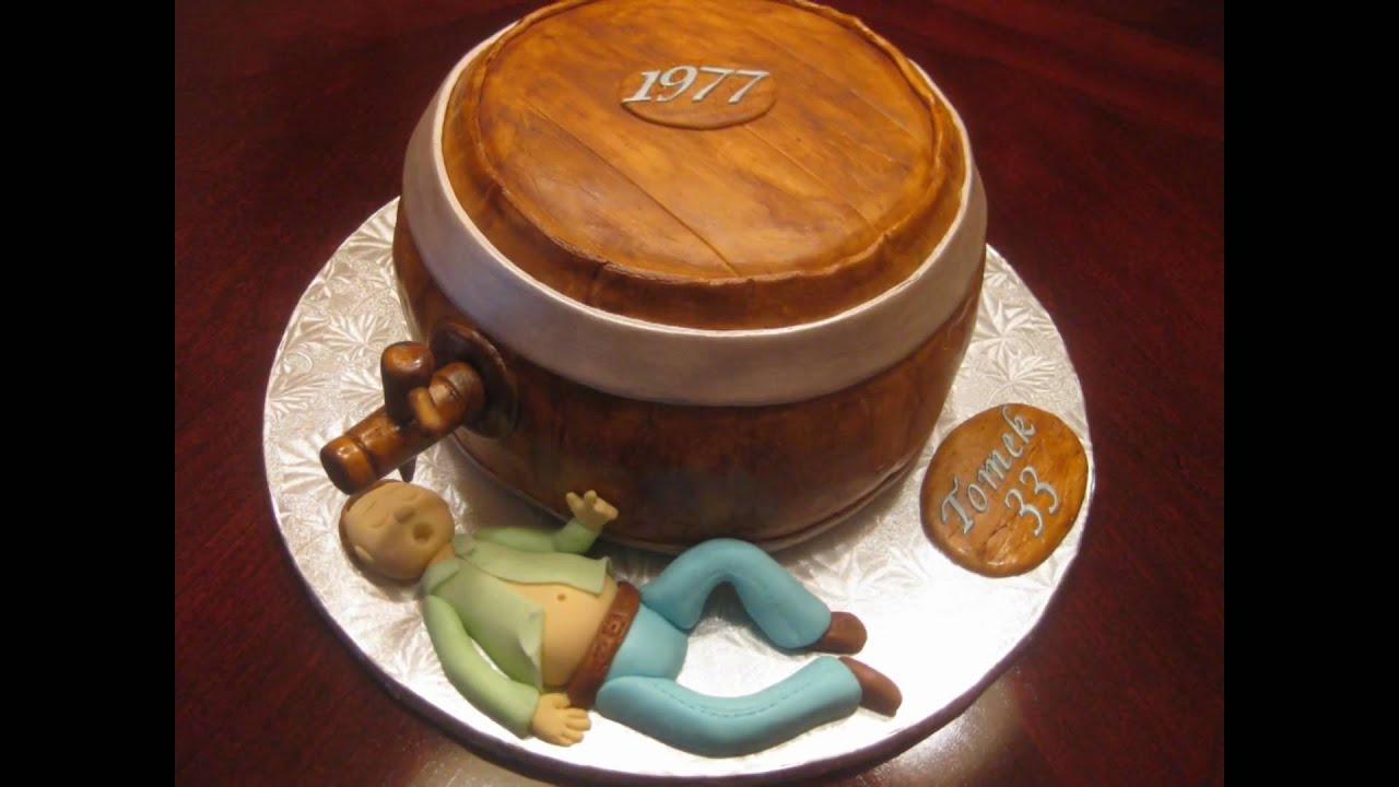 How To Make A Wooden Barrel Cake