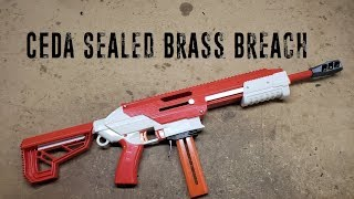 Nerf For Science! - CEDA Sealed Brass Breach
