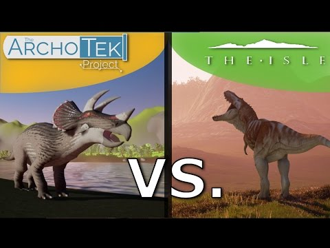 The Isle Vs. The ArchoTek Project | Gameplay and Review Comparison