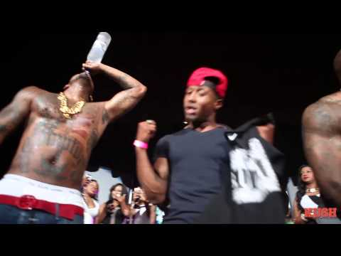 The Game - My Life Live downs a Liter of Grey Goose on stage