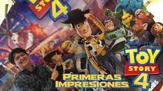 Ya Vi Toy Story 4 | Lloré | Primeras Impresiones con Alex Montiel