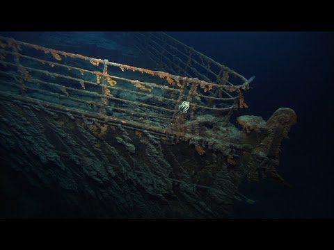 NOAA Titanic Expedition 2004: Breathtaking Wreck Footage