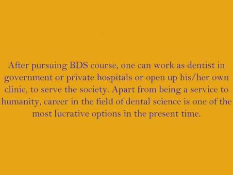 Bachelor Of Dental Surgery (BDS)
